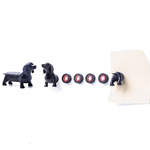 - Home Office Decoration Dachshund Fridge Magnets Message Magnets Button Magnets Magnetic Dog Toy