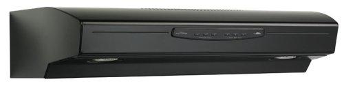 Broan QS236BL Allure II Under-Cabinet Range Hood, 36-Inch, Black