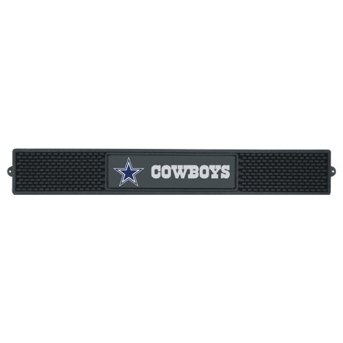 FANMATS  13983  NFL Dallas Cowboys Vinyl Drink Mat (Mlb Floor Rubber Mat)