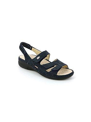 Grunland Se0055 Laba Sandalo Donna P. Blu 42  36 EU 9pgFfr6b2p