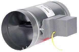 10 RSD | EWC Controls | Round Damper | 10 RSD ROUND SPRING RETURN DAMPER