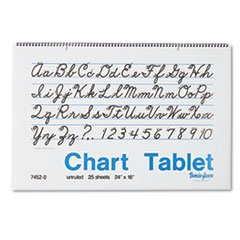 PAC74520 - Pacon Chart Tablets