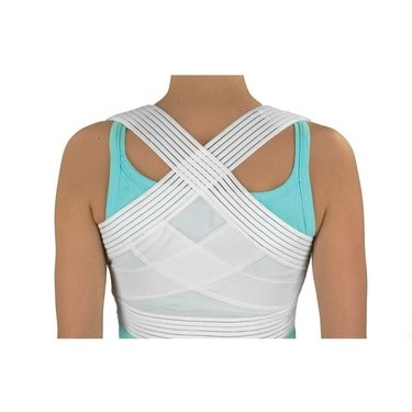 Duro-Med Posture Corrector, White, Medium-Large by ()
