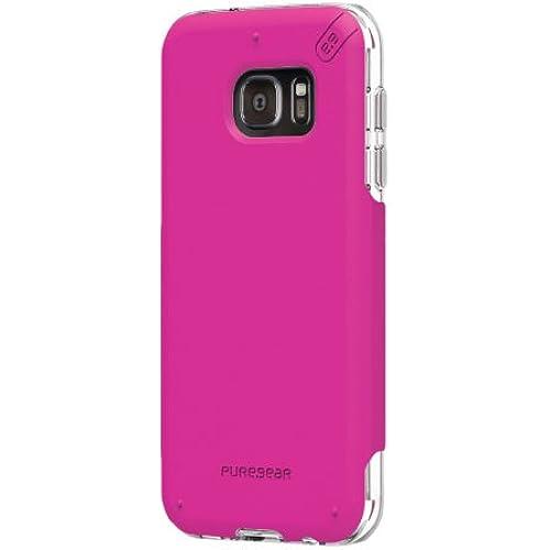 PureGear DualTek PRO for Samsung Galaxy S7 edge - Pink/Clear Sales