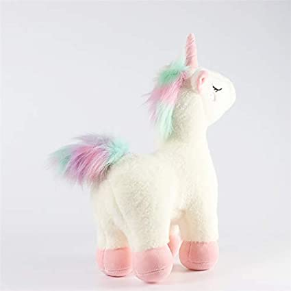 Tokari wala Unicorn Plush Toy Stuffed Animal Pillow Cushion Soft Toys for Baby Kids (Medium)