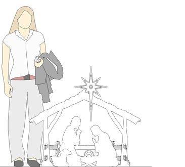 MyNativity Outdoor Christmas Nativity Set, Medium by MyNativity (Image #2)