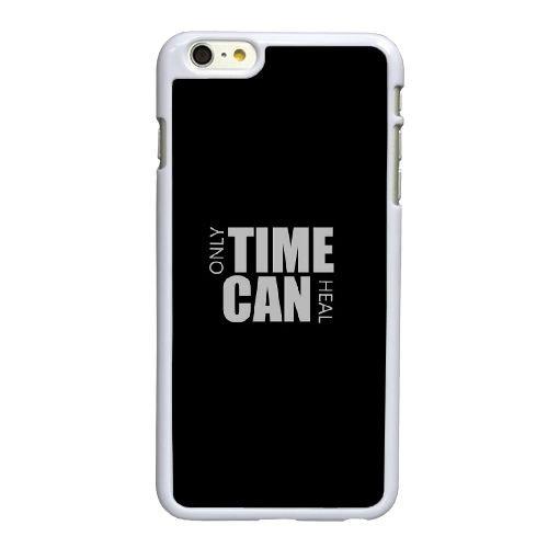 Q2X67 que le temps peut guérir T6B5MQ coque iPhone 6 4.7 pouces cas de couverture de téléphone portable coque blanche IF1YBU6OF