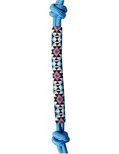 Professional's Choice Beaded Rope Halter Turquoise ()