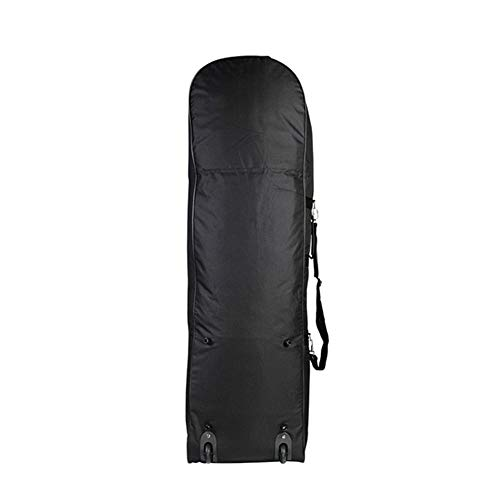 YF ZJ Golf Bag Airline Travel Case Black Waterproof Nylon Airplane Bag Wheeled Travel Covers