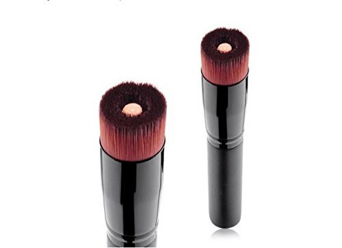 Face Contour Brush - Flat Nose Cheek Round Small Angled Fan Tapered Precision Foundation Makeup ()