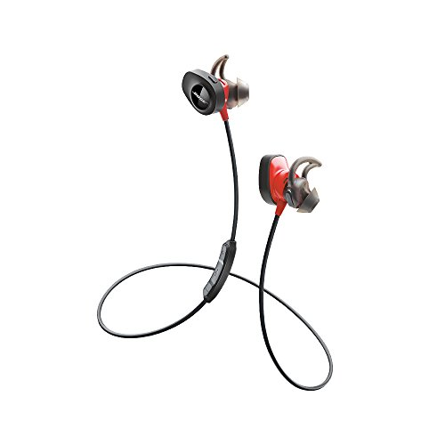 Bose SoundSport Pulse Wireless Headphones, Power Red (With Heartrate Monitor)