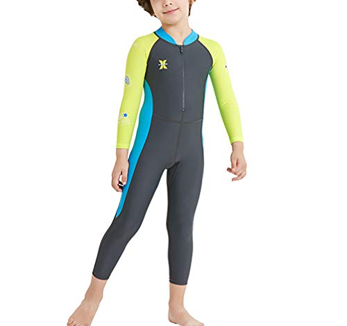 Amazon.com : TYUE Kids One Piece Swimsuit Long Sleeves Long ...