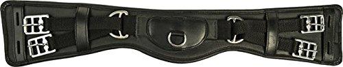 Hkm 550402 Leather Saddle Girth, Starter, Length 65 Cm Black