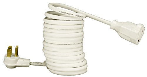 Flexy Coiled Extension Cord 18 Gauge, 10 Amps - Extends From 4 In. To 8 Ft.