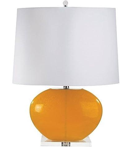 Amazon.com: Lámparas de Mesa 1 Luz con acabado de color ...