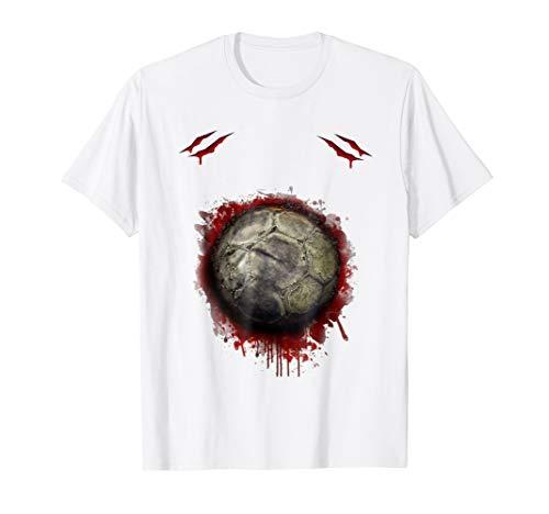Zombie Soccer Player T-shirt Halloween 2018 best gift