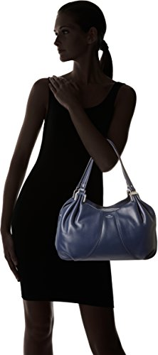 Le Tanneur Alice Thx1000 - Bolsa de Asa Superior Mujer Azul (Crépuscule)