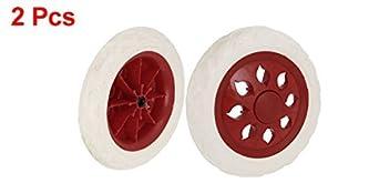 Compras rueda Caliente de diseño de rueda Ruedas Beige Rojo 2 piezas ...
