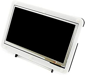 Lotus 7 Inch HDMI LCD(B) for All Ver. Raspberry pi B/A+/B+/2B/3B/3B+/ BB Black/Banana Pi/Windows, Capacitive Touch Screen LCD with Bicolor Case, 800 x 480.: Amazon.es: Electrónica