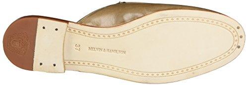 Melvin&Hamilton Scarlett 2 - Mules Mujer Beige (Crust Powder Tassel Powder Orange Acc Gold LS NAT)