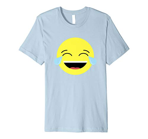 (Laughing Tears Emojis Shirt | Cute Happy Laugh Face Tee)