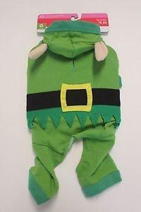 Target Dog Elf Costume (Elf Pajamas Dog Costume Size Medium (Fits dogs up to 50 lb))
