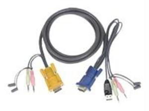 IOGEAR Premium KVM Cables 10 ft