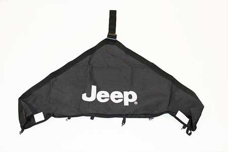 Wrangler Jeep Bras - JEEP WRANGLER 97-06 T HOOD COVER V STYLE TRAIL RATED