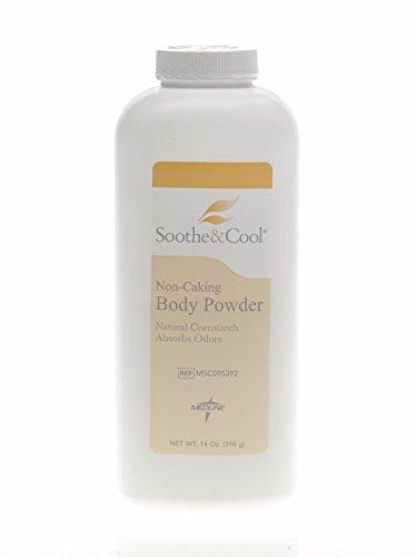 Medline MSC095392 Soothe Cornstarch Powder