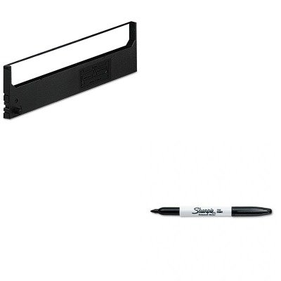 KITDPSR1800SAN30001 - Value Kit - Dataproducts R1800 Compatible Ribbon (DPSR1800) and Sharpie Permanent Marker (SAN30001) - Dataproducts R1800 Compatible Ribbon