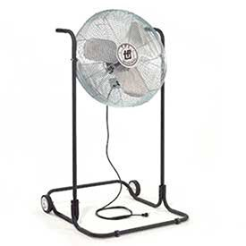 TPI Corporation F24H-TE Industrial Workstation High Stand Fan, Single Phase, 24