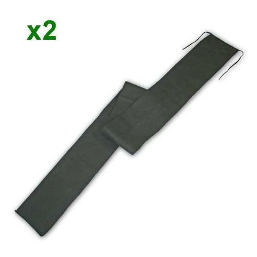 2 rod sleeves for 12ft//2 piece carp rod