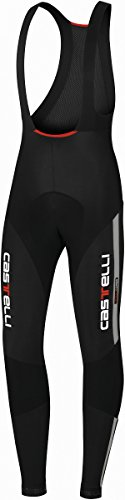 - Castelli Sorpasso Bib Tight Black/Reflex, XXL - Men's