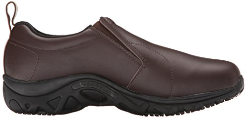 Work Shoe Espresso Jungle Slip Resistant Pro Grip Merrell Men's Moc zxFpp0