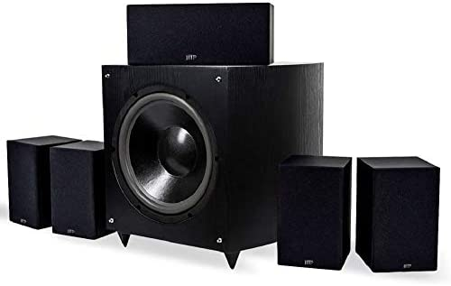 Home Theater Subwoofer >> Monoprice Premium 5 1 Ch Home Theater System With 12in Subwoofer 9723