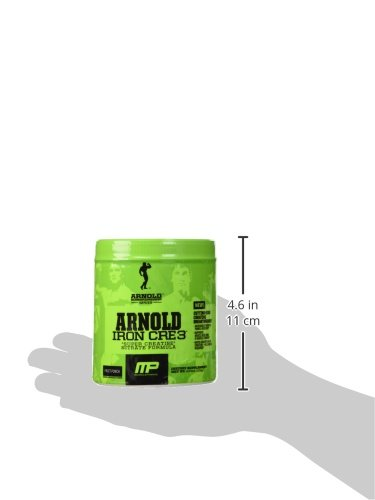 Arnold By Musclepharm Iron Cre3 Fruit Punch,4.34 oz (123 g)