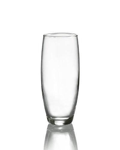 Luminarc Arc International Cachet/Perfection Bulk Stemless Flute (Set of 12), 9 oz, (Bulk Beer Glasses)