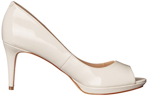 Nine West Gelabelle Synthetic Kleid Pump Off White