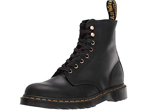new high quality another chance super popular Dr. Martens Unisex 1460 Pascal Core Black Soapstone/Hi Suede Waterproof 12  M UK