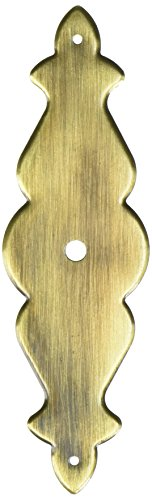Laurey 22205 4-Inch X 1-Inch Classic Traditions Backplate, Antique Brass
