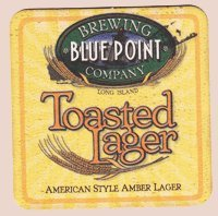 Toasted Lager (Blue Point Brewing Company Toasted Lager Paperboard Coasters - Set of 4)