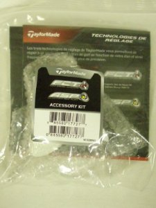 Taylor Made R11 Driver Accessory Kit (Golf Club Wrench/Tool & Instructions) NEW