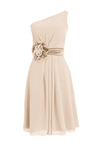 Dress Chiffon 50 DaisyFormals Knee Vintage Bridesmaids champagne BM5277 Length Dress wrpXZ8XxYq