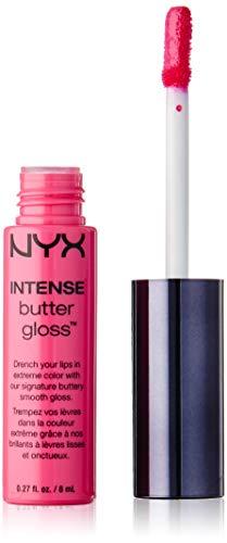 NYX PROFESSIONAL MAKEUP Intense Butter Gloss, Pink Macaroon, 0.27 Fluid Ounce
