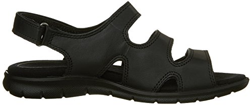 ECCO Women's Babett 3 Strap Dress Sandal,Black,41 EU/10-10.5 M US Photo #2