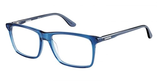 Carrera 6637-N Progressive No Line Bifocal Designer Reading Glasses, Blue Gray, - Glasses Reading Carrera