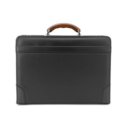 豊岡鞄 メンズ ダレスバッグ 2way 木製ハンドル MH5500 B07PC23K8X
