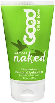 Good Clean Love Personal Lubricant Almost Naked - 4 oz, Pack of 5 by Good