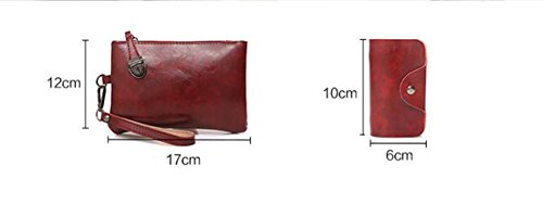 Sac Fourre Tout Six À Crossbody Bandoulière À Costume Paquet Portefeuille Carte Main Brown Paquet Brown De PU Diagonal Pièces Sacs Sac Cuir LXYIUN nP7O4SWx