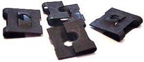 Carton 6-32 3,000 Pc C8019-632-4 Tinnerman Style J-Type Spring Nuts//Steel//Black Phos